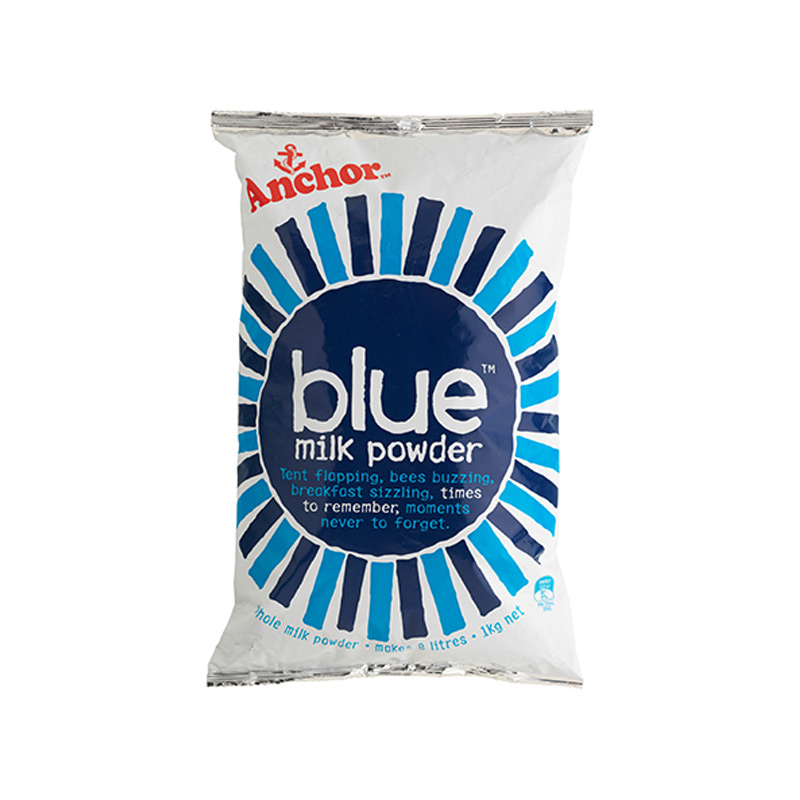 Blue Milk Powder 1kg Bag x 6