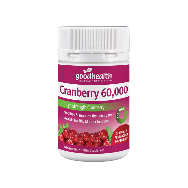 Good Health Cranberry 60000 50s
