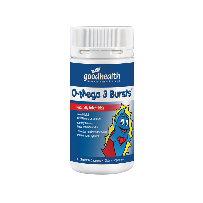 Good Health Omega 3 Bursts 60 Capsules