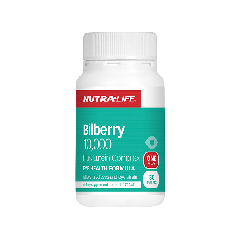 Nutra Life Bilberry 10000 30s