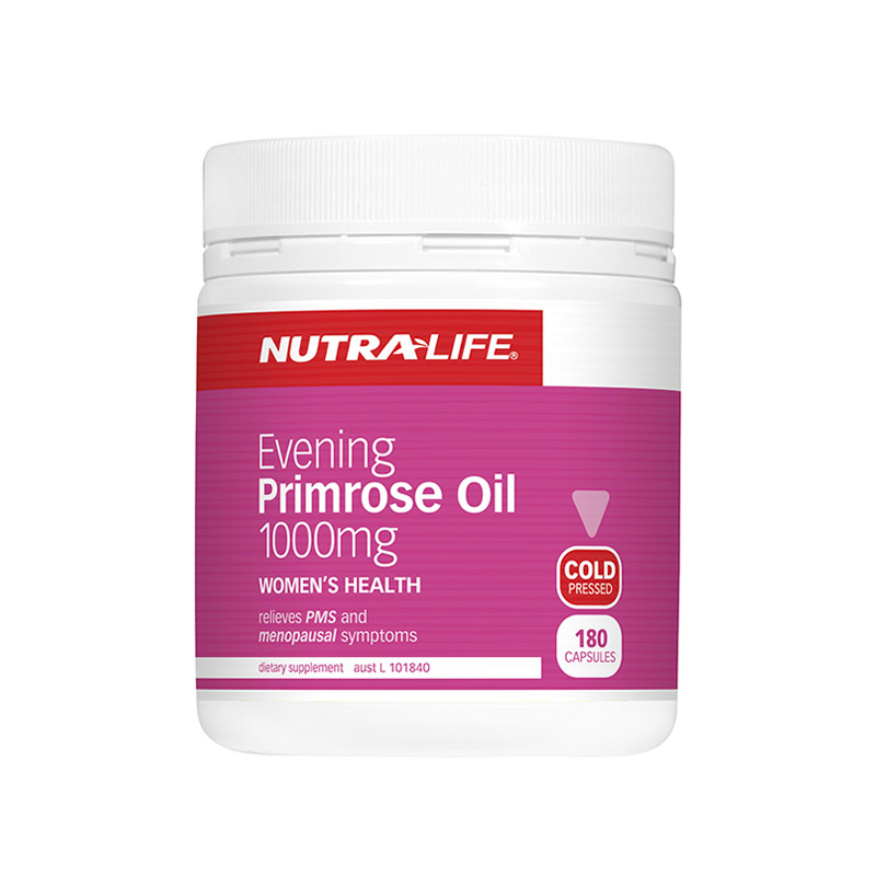 Nutra Life Evening Primrose Oil 1000mg 180s