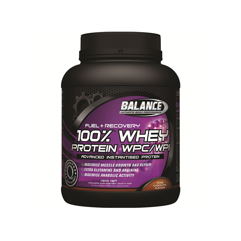 Balance Fuel Recovery 100 Chocolate Whey 750