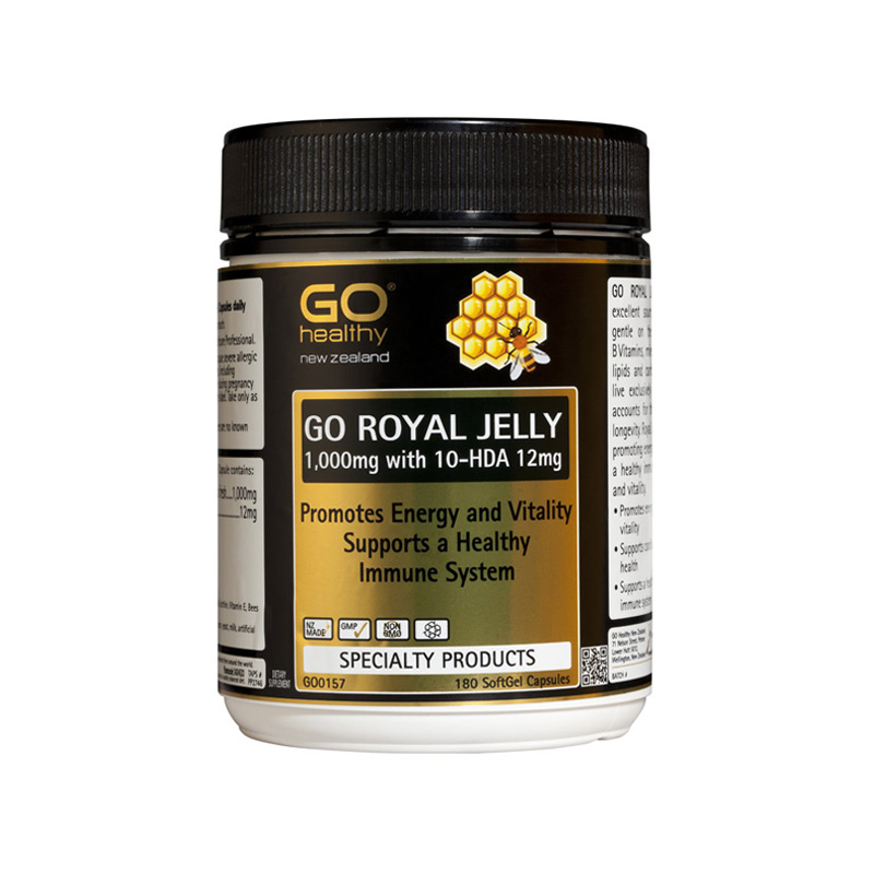 Go Healthy Go Royal Jelly 180s