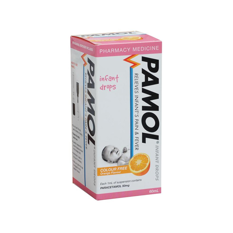 Pamol Infant Drops 60ml