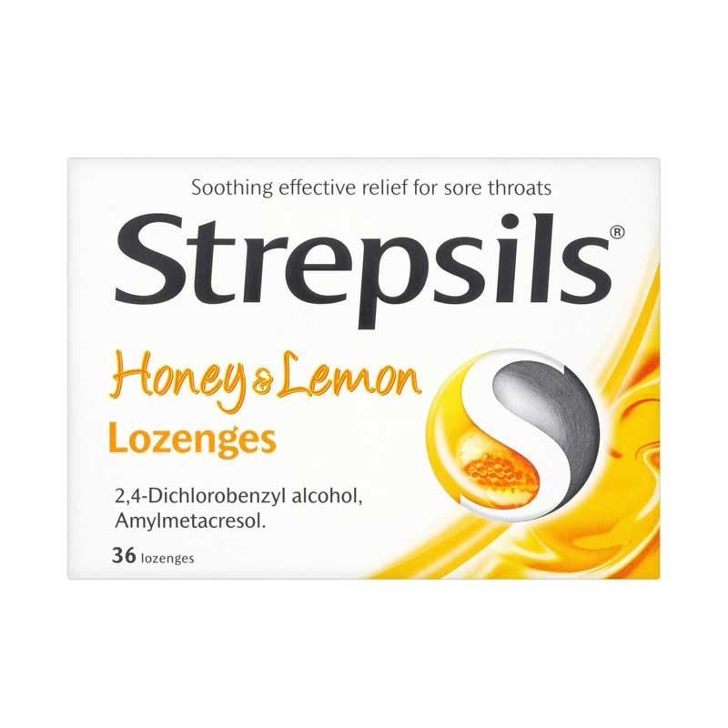 Strepsils Lozengs Honey Lemon 36s